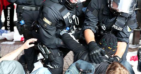 Aufmacher Polizeigewalt